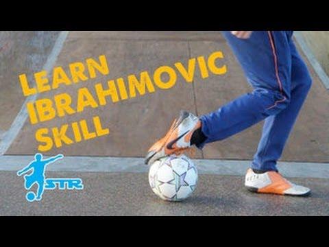 Learn Zlatan Ibrahimovic Popcorn flick - Football Soccer skills