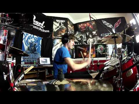 Daft Punk - Get Lucky - Drum Cover (NEW SONG Ft. Pharrell Williams)