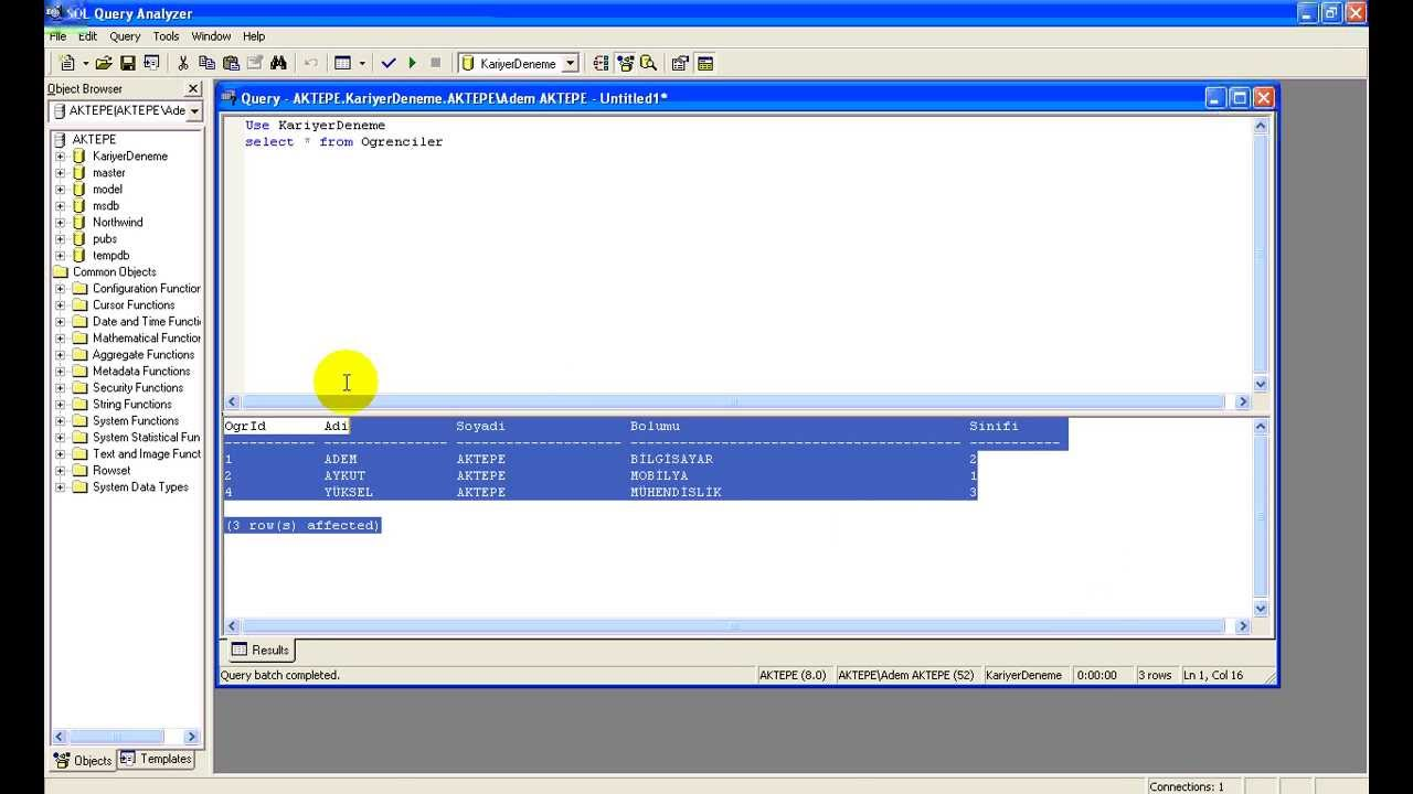 Download sql compact query analyzer 0. 8. 0. 15880 beta.