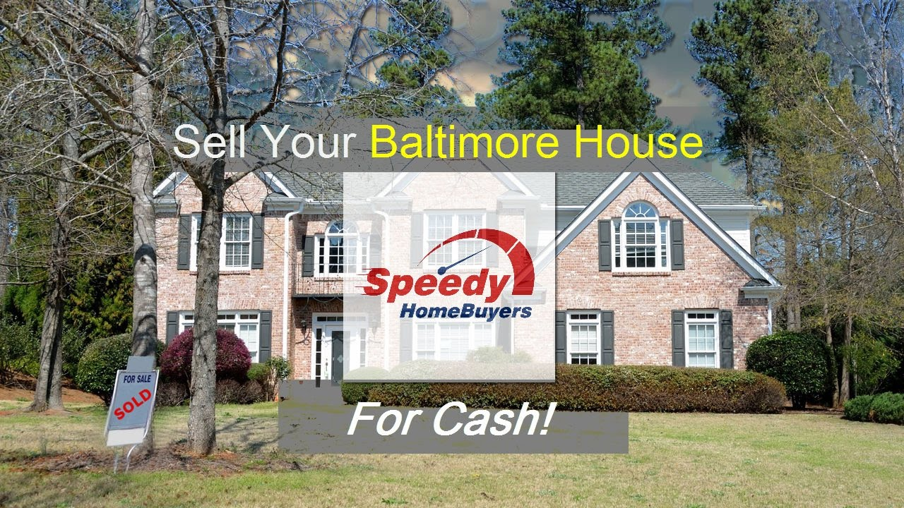 Sell Your Baltimore Maryland House for Cash