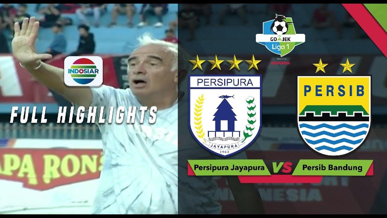 Persipura Jayapura (1) vs (1) Persib Bandung - Full ...