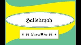 Halleluyah for Karaoke from the musical Shrek