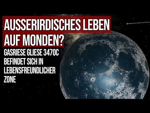 Außerirdisches Leben auf Monden? - Gasriese Gliese 3470c befindet sich in lebensfreundlicher Zone