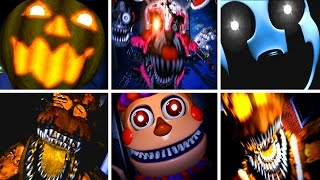 Five Nights at Freddy s 4 All NEW Jumpscares
