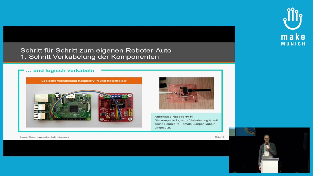 2017 – Roboter-Autos mit dem Raspberry Pi - YouTube