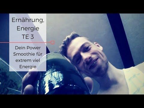 Ernährung, Energie / TE3: Dein Power Smoothie für extrem viel Energie