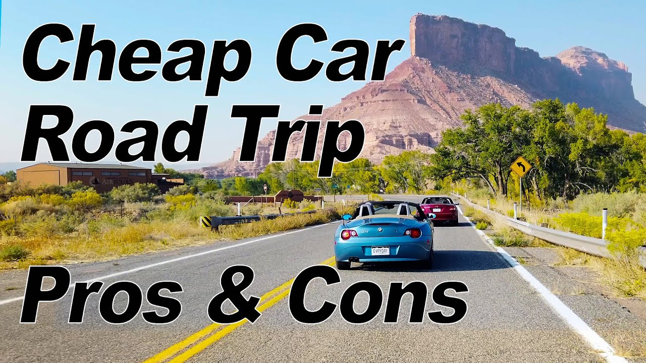 Cheap Car Road Trip Pros & Cons - Cheap Sports Car Challenge 03 - Swapping Cars | Everyday Drive