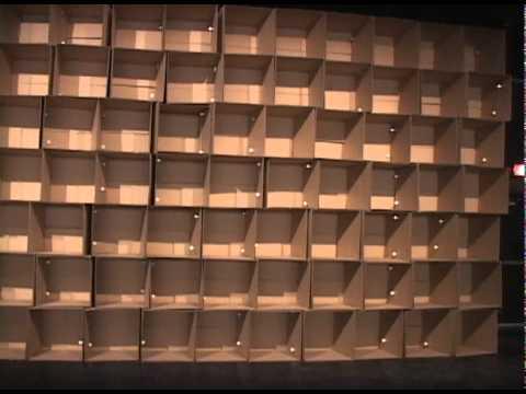 Mois Multi 2011 - Zimoun - Prepared DC-motors, Cardboard