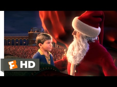 The Polar Express (2004) - The First Gift of Christmas Scene (4/5) | Movieclips