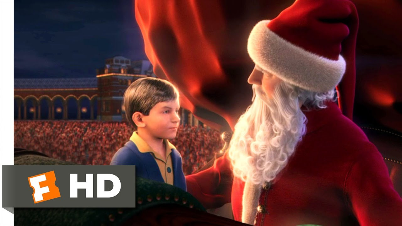The Polar Express (2004) - The First Gift of Christmas Scene (4/5 ...