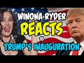 Winona Ryder Reacts to Trump's Inauguration | PARODY | Lowcarbcomedy