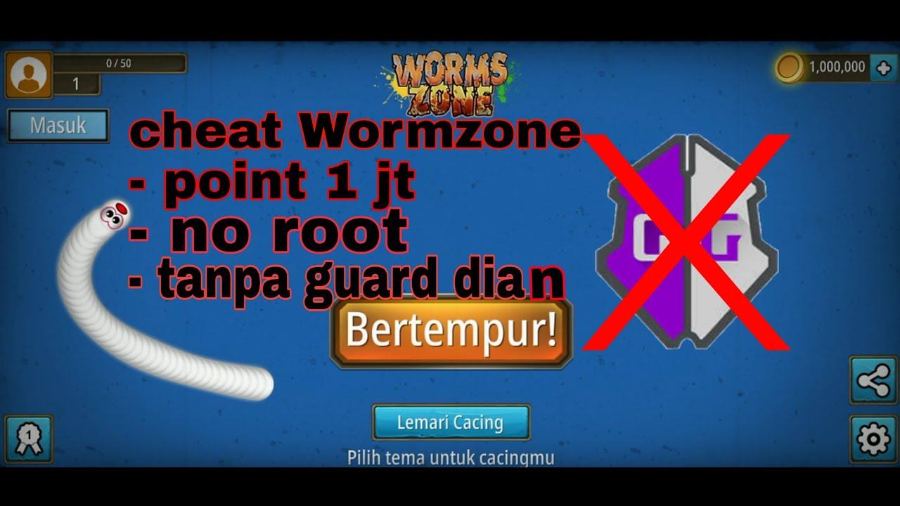 Cara download wormzone cheat tanpa aplikasi game guardian dan tanpa root - YouTube