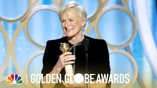 Glenn Close Wins Best Actress, Drama - 2019 Golden Globes (Highlight)