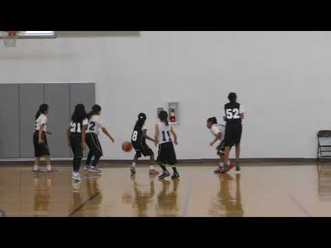 Cupertino Hoops Team 68  - League Game 01-13-2018