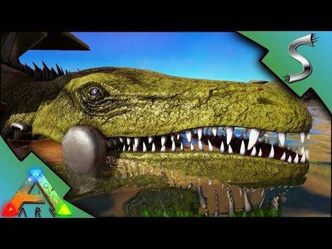 MOSASAURUS & PLESIOSAUR TAMING! DEEP SEA ADVENTURE! - Ark: Survival Evolved [S3E38]