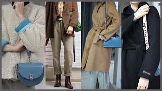 겨울데일리룩❄️아우터의계절 ?,fashion haul …