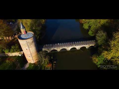 SkyPics Aerial Cinematography - Bruges, Belgium in 4K