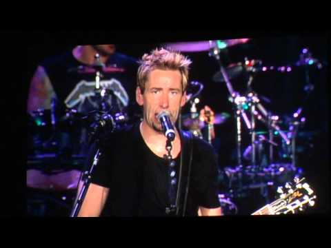 Nickelback - Trying Not To Love You HD - O2 Arena London 1st October 2012