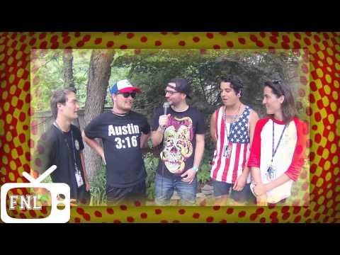 Joey Genovese interviews BoyMeetsWorld at Vans Warped Tour Mansfield