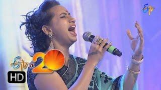 kalpana performance nityam yekantam song in nellore etv 20 celebrations