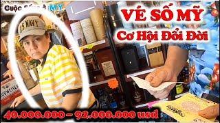 ❀//Vlog 221// Đổi Đời Với Tấm Vé Số Mỹ (92.000.000 USD)? - Con Đường Đến Ước Mơ Triệu Phú Đô La