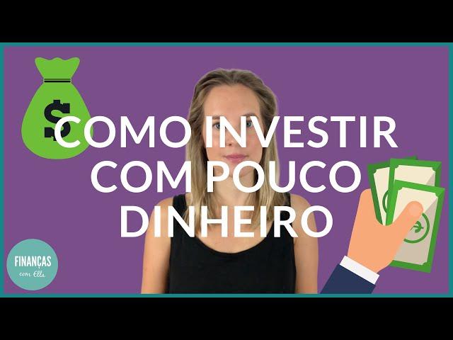 Investir com pouco dinheiro | Qual o melhor investimento para ti?