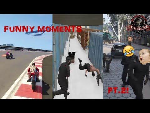 BMTF FUNNY AND RANDOM MOMENTS PT. 2 II GTA ONLINE II