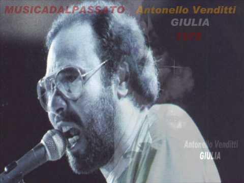 Antonello Venditti - Giulia(1978)