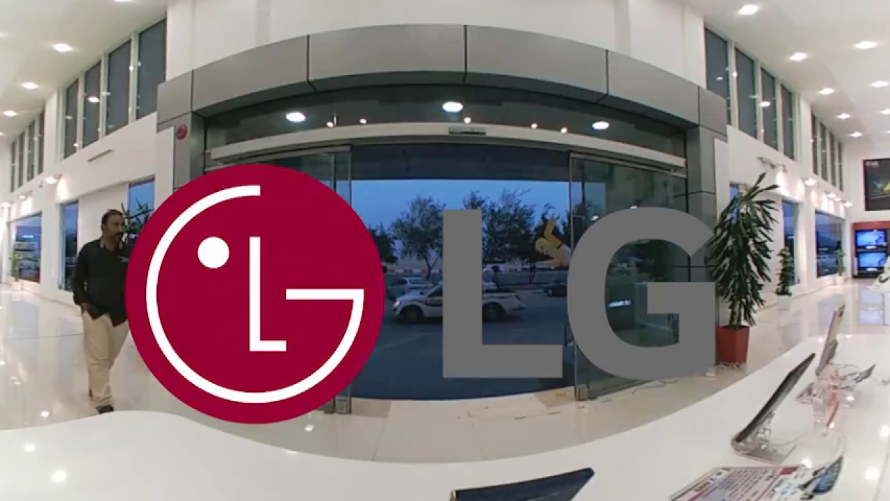 Lg Brand Showroom Doha Qatar Youtube