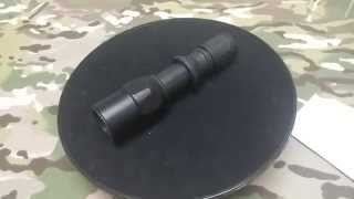 CombatGearing.com : G2 ZX Style T6 500 lumens LED Flashlight