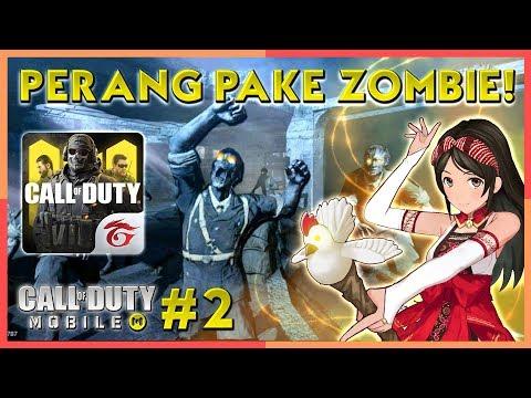 Battle Royale CODM Diserang Monster dan Main Zombie!! | Call of Duty Mobile Indonesia (2) (Vtuber)