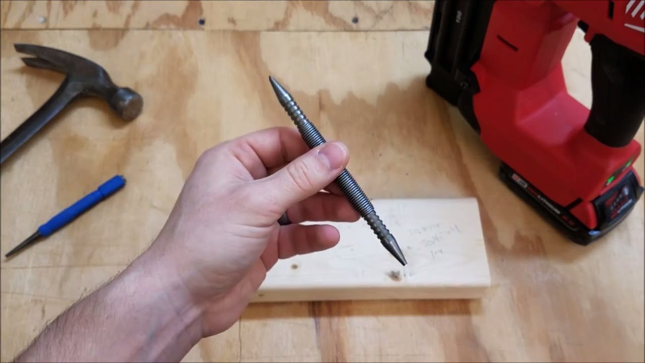Spring Tools Nail Set And Center Punch Review