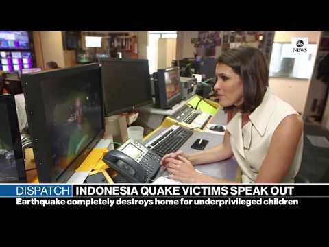 ABC News - Indonesia quake victims speak out