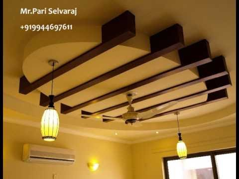 Pari False Ceiling Interior Designs Wooden Works