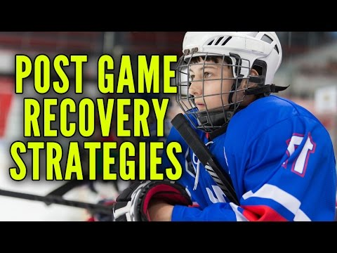 Hockey Post Game Recovery Strategies