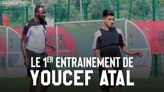 Le 1er entraînement de Youcef Atal