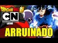 ¡ CARTOON NETWORK ARRUINO EL ESPECIAL 1 HORA DRAGON BALL SUPER LATINO ! CAPITULO 109 Y 110 DBS