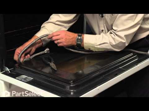 Range/Stove/Oven Repair - Replacing the Door Gasket (Whirlpool Part # W10162384)