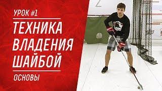 Урок #1: Техника владения шайбой / Основы | Школа хоккея Sparta
