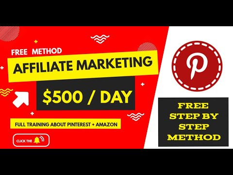Affiliate Marketing For Beginners In Tamil | $500 Per Day | Amazon And Pinterest - NO WEBSITE