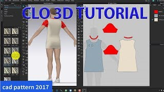 CLO 3D Tutorial   3D Design   3d Modeling   Virtual Dress   CLO 3D Software
