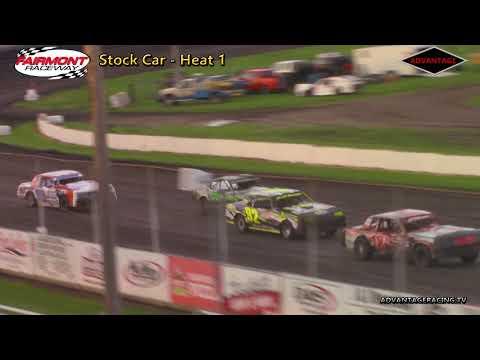 Sport Modified/Stock Car Heats - Fairmont Raceway - 6/8/18