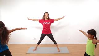 Yoga For Stress Relief | 20 Minute Teens Yoga Class with Yoga Ed. | Ages 11-13