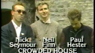 Crowded House on Success in 1986