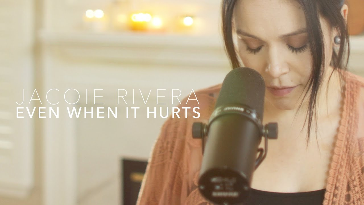 Jacqie Rivera - Even When It Hurts (Cover)