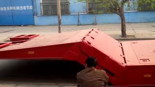 Download Video folding gooseneck lowboy trailer MP3 3GP MP4