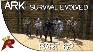 "Ark: Survival Evolved Gameplay - Part 63: ""The Northern Island Cave!"" (Early Access)"