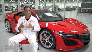 What Makes a Honda - 2017 Acura NSX Supercar