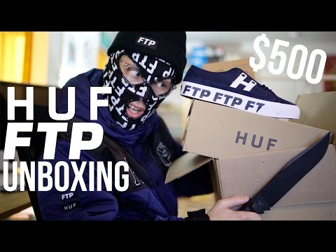 HUF x FTP Unboxing | I spent $500 on this...