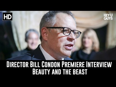 Bill Condon Premiere Interview - Beauty and the Beast
